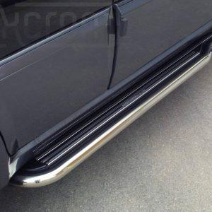 Hyundai Terracan 2001 2004 - Lemezbetétes oldalfellépő - mt-221