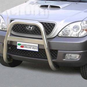 Hyundai Terracan 2004 - EU engedélyes Gallytörő rács - magasított - mt-214