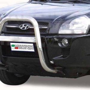 Hyundai Tucson 2004 2014 - EU engedélyes Gallytörő rács - magasított - mt-214
