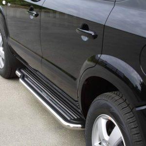 Hyundai Tucson 2004 2014 - Lemezbetétes oldalfellépő - mt-221