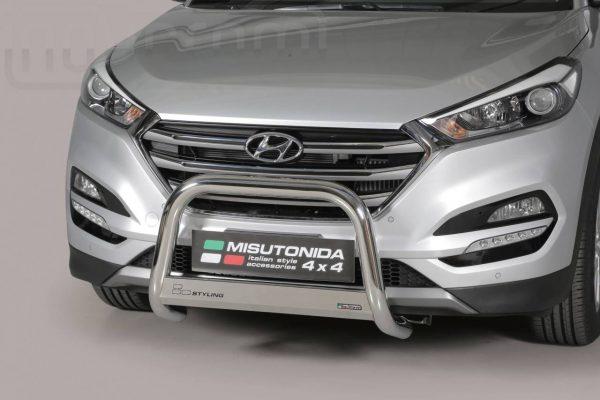 Hyundai Tucson 2015 2017 - EU engedélyes Gallytörő rács - mt-133