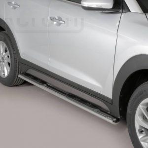 Hyundai Tucson 2015 2017 - Ovális oldalfellépő - mt-192