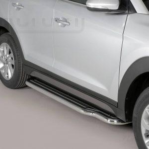 Hyundai Tucson 2015 2017 - Lemezbetétes oldalfellépő - mt-221