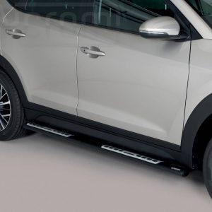 Hyundai Tucson 2018 - ovális oldalfellépő betéttel - mt-115