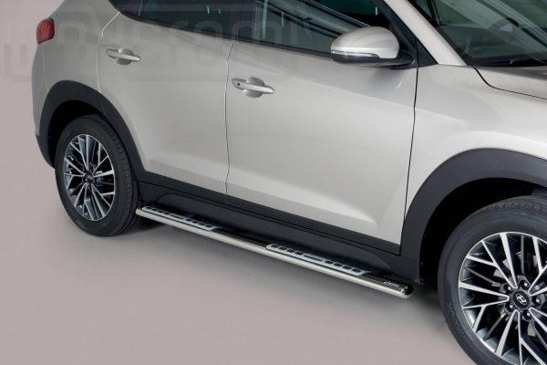 Hyundai Tucson 2018 - ovális oldalfellépő betéttel - mt-111