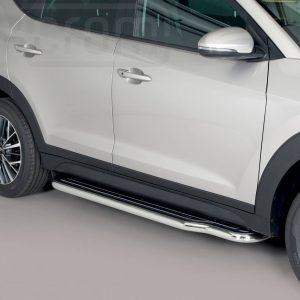 Hyundai Tucson 2018 - Lemezbetétes oldalfellépő - mt-221