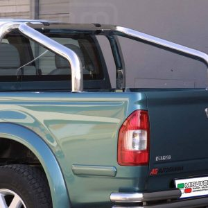 Isuzu D Max Crew 4wd 3 0 2004 2006 - Szimpla borulásvédő - mt-246