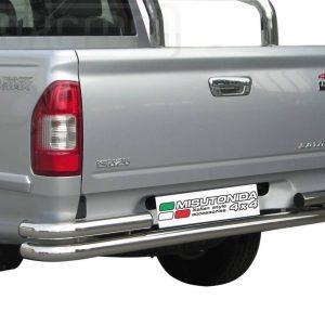 Isuzu D Max Double Cab 2007 2012 - Dupla csöves hátsó lökhárító - mt-101