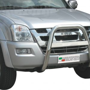 Isuzu D Max Double Cab 2007 2012 - EU engedélyes Gallytörő rács - magasított - mt-214