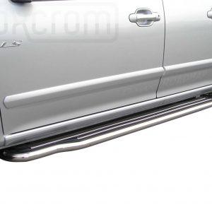Isuzu D Max Double Cab 2007 2012 - Lemezbetétes oldalfellépő - mt-221