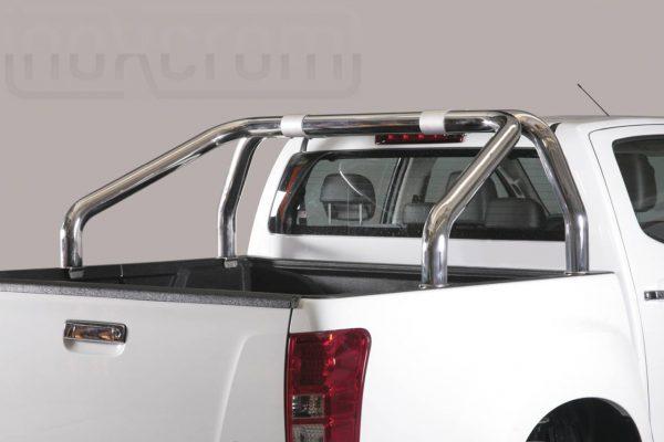 Isuzu D Max Double Cab 2012 2016 - Szimpla borulásvédő - mt-246