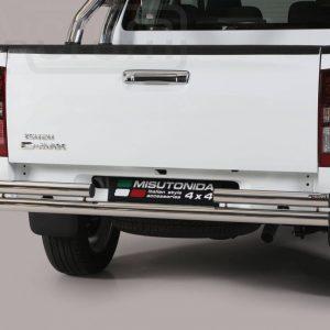 Isuzu D Max Double Cab 2017 - Dupla csöves hátsó lökhárító - mt-101