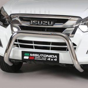 Isuzu D Max Double Cab 2017 - EU engedélyes Gallytörő rács - U alakú - mt-157