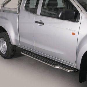 Isuzu D Max Space Cab 2012 - Lemezbetétes oldalfellépő - mt-221