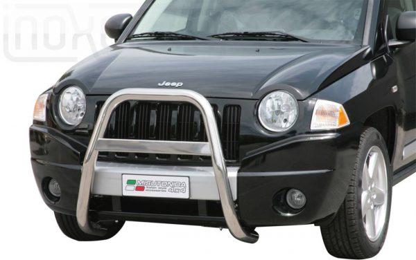 Jeep Compass 2007 2010 - EU engedélyes Gallytörő rács - magasított - mt-214