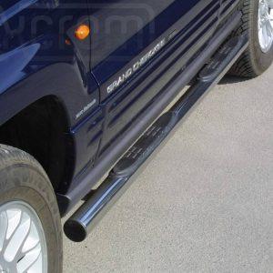 Jeep Grand Cherokee 1999 2005 - Csőküszöb, műanyag betéttel - mt-178