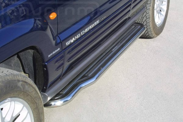 Jeep Grand Cherokee 1999 2005 - Lemezbetétes oldalfellépő - mt-221