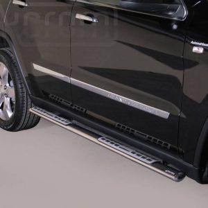 Jeep Grand Cherokee 2011 2014 - ovális oldalfellépő betéttel - mt-111
