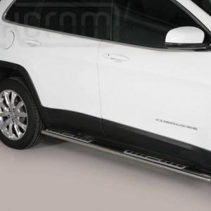 Jeep New Cherokee 2014 - ovális oldalfellépő betéttel - mt-111