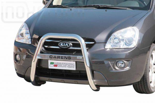 Kia Carens 2008 - EU engedélyes Gallytörő rács - magasított feliratos - mt-218