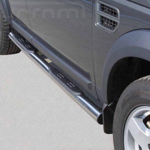 Land Rover Discovery 3 2005 2008 - Csőküszöb, műanyag betéttel - mt-178