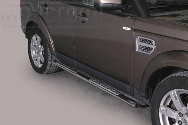 Land Rover Discovery 4 2012 - ovális oldalfellépő betéttel - mt-111