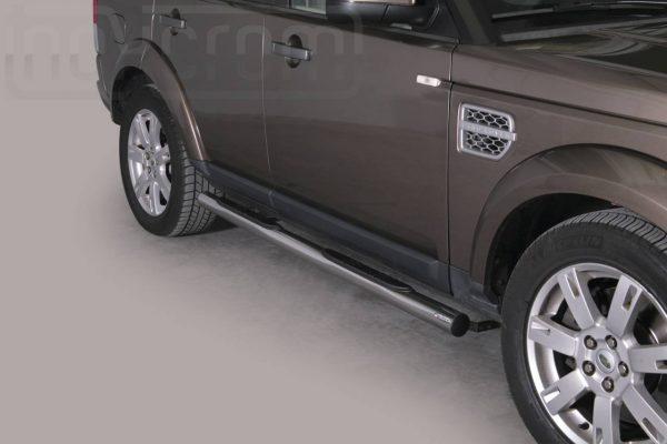 Land Rover Discovery 4 2012 - Csőküszöb, műanyag betéttel - mt-178