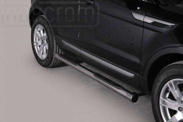 Land Rover Evoque 2011 2015 - Csőküszöb, műanyag betéttel - mt-178