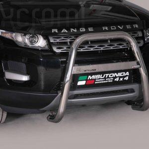 Land Rover Evoque 2011 2015 - EU engedélyes Gallytörő rács - magasított - mt-214