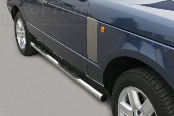 Land Rover Range Rover 2005 2008 - Csőküszöb, műanyag betéttel - mt-178