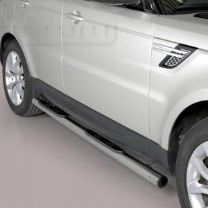 Land Rover Range Rover Sport 2014 2017 - Csőküszöb, műanyag betéttel - mt-178