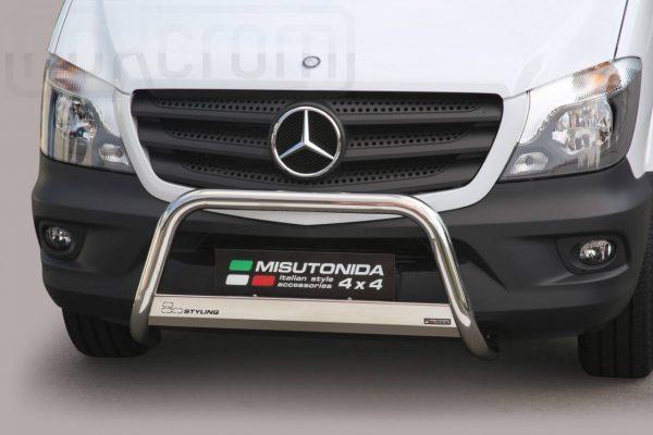 Mercedes Sprinter 2013 2017 - EU engedélyes Gallytörő rács - mt-133