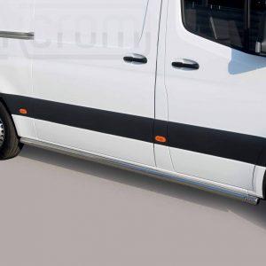 Mercedes Sprinter 2018 - oldalsó csőküszöb - mt-275