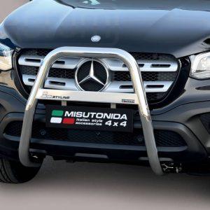 Mercedes X Class 2017 - EU engedélyes Gallytörő rács - magasított - mt-214