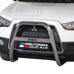 Mitsubishi Asx 2010 2011 - EU engedélyes Gallytörő rács - magasított feliratos - mt-218