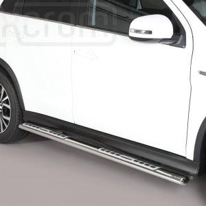 Mitsubishi Asx 2017 2019 - ovális oldalfellépő betéttel - mt-111