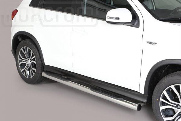 Mitsubishi Asx 2017 2019 - Csőküszöb, műanyag betéttel - mt-178