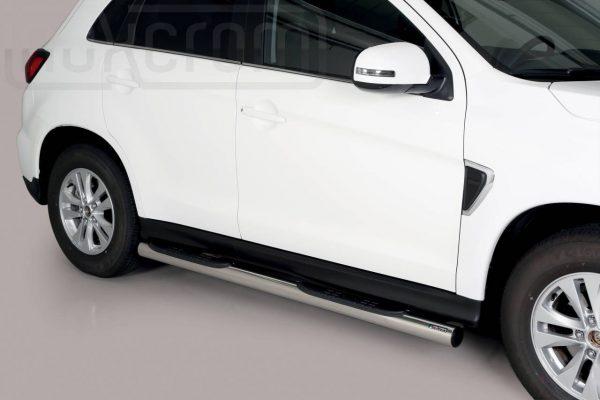 Mitsubishi Asx 2020 - Csőküszöb, műanyag betéttel - mt-178