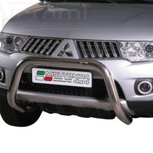 Mitsubishi L200 Club Cab 2010 2015 - EU engedélyes Gallytörő rács - U alakú - mt-157