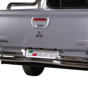 Mitsubishi L200 Double Cab 2010 2015 - Dupla csöves hajlított hátsó lökhárító - mt-105