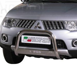 Mitsubishi L200 Double Cab 2010 2015 - EU engedélyes Gallytörő rács - feliratos - mt-153