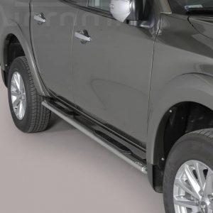 Mitsubishi L200 Double Cab 2015 2018 - Ovális oldalfellépő - mt-192