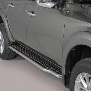 Mitsubishi L200 Double Cab 2015 2018 - Lemezbetétes oldalfellépő - mt-221