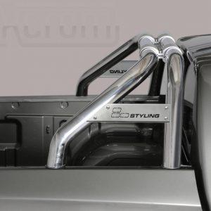 Mitsubishi L200 Double Cab 2015 2018 - Szimpla borulásvédő - összekötővel - mt-260