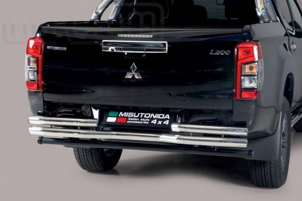 Mitsubishi L200 Double Cab 2019 - Dupla csöves hajlított hátsó lökhárító - mt-105