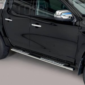Mitsubishi L200 Double Cab 2019 - ovális oldalfellépő betéttel - mt-111