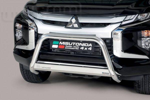 Mitsubishi L200 Double Cab 2019 - EU engedélyes Gallytörő rács - mt-133