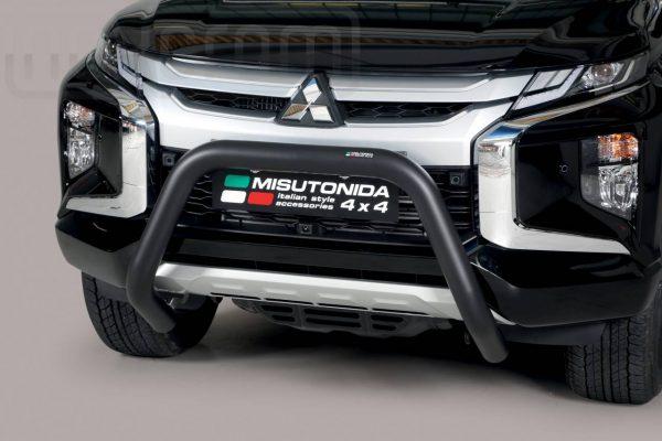 Mitsubishi L200 Double Cab 2019 - U alakú EU engedélyes Gallytörő rács - mt-174