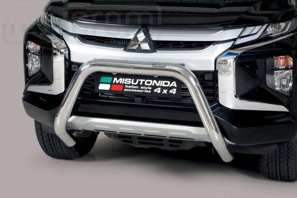 Mitsubishi L200 Double Cab 2019 - EU engedélyes Gallytörő rács - U alakú - mt-157