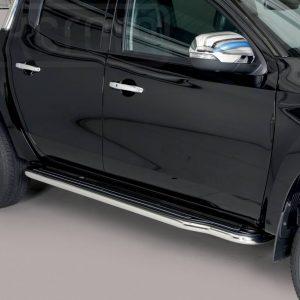 Mitsubishi L200 Double Cab 2019 - Lemezbetétes oldalfellépő - mt-221